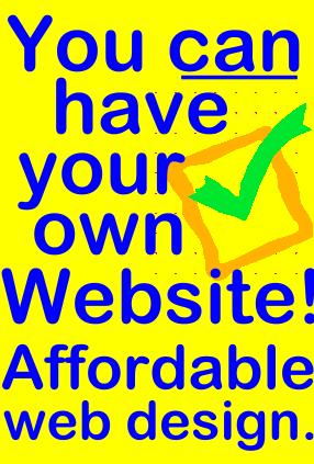 You Should Get a Website of Your Own - Click Here