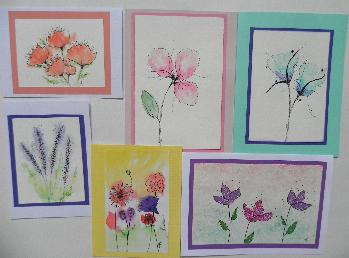 original art greeting cards